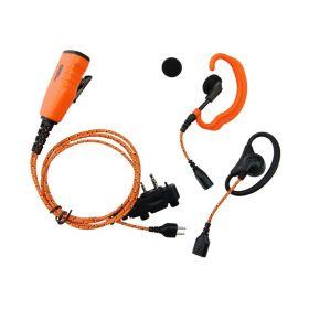 Icom ProEquip 3-i-1 Headset Orange