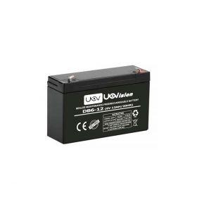 Uovision Batteri 6V 12 Ah