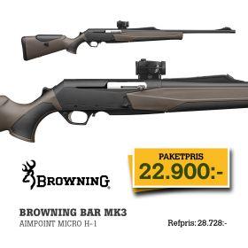 Browning Bar MK3 Comp.HC Adj. + Aimpoint Micro H1