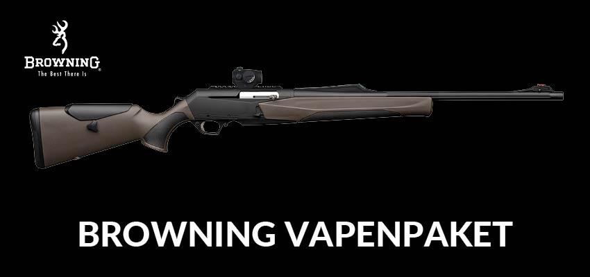 Browning Vapenpaket